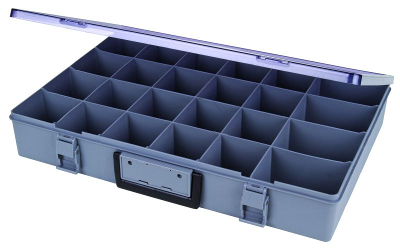 24-Compartment Large Satchel-Style Case satchel case, 1024-2, 6745AA