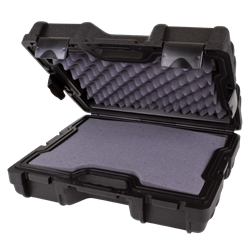 Defender 17 (DW 6) with Diced Foam defender, plastic case, diced foam, double wall, blow mold, water resistant, crush resistant, stackable, chemical resistant, gasket seal, rear feet, 50541F