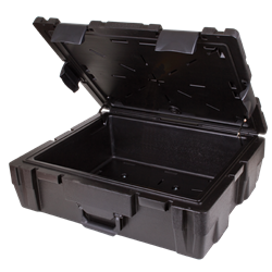 "Defender 26"" (DZ 9) Defender case,defender, double wall, stackable, water resistant, crush resistant, chemical resistant, gasket seal, rear feet, blow mold, 50721"