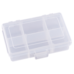 T1002 Four Compartments & Two Removable Dividers polypropylene,Tuff-Tainer,detachable lid,movable dividers,compartments,harsh conditions,chemical resistance,plastic cases,plastic packaging