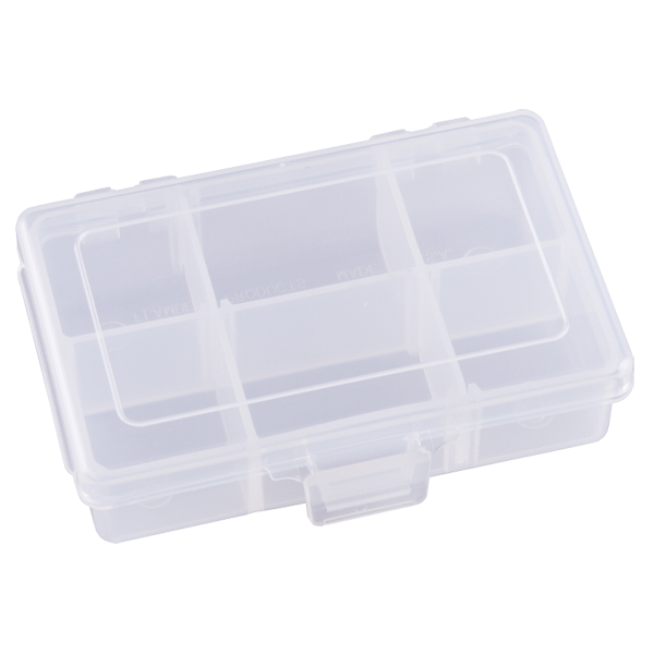 Four Compartments & Two Removable Dividers