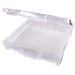 12 x 12 Clear Box With Handle - 6763TE