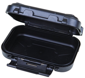 "Black Ribbon 4 3/8"" (11.11 cm) astic cases, black ribbon cases, storage cases, water resistant cases, durable cases, flambeau cases, flambeau packaging, packaging products, customized cases, black cases, ABS plastic, 6734PC, 4 3/8"""