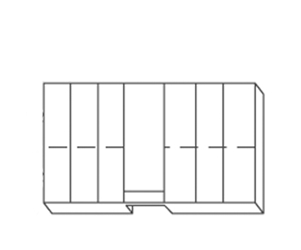 Cabinet Replacement Drawer 6 Pack (Drawer B) Cabinet,Replacement Drawer,6 Pack,Drawer B