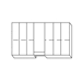 Cabinet Replacement Drawer 6 Pack (Drawer B) - 6069DP