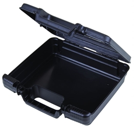 "Merchant 10"" (25.4 cm) merchant,case,plastic packaging,plastic cases, blue diamond, 6772TC, 10"", small case, case, black, firearm case, flashlight case, kit,"