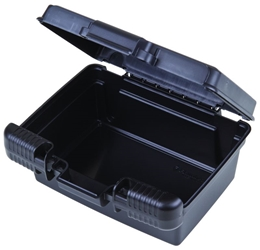 "Merchant 7"" (17.78 cm) merchant,case,plastic packaging,plastic cases, blue diamond, 6767TC, 7"", 6"", small case, case, black, firearm case, flashlight case, kit,"