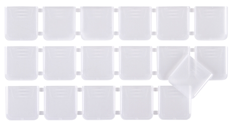 T4007 Dividers 12-Pack divider, replacement, parts, T4007, Tuff Tainer, Tuff-Tainer, DVDR PACK 601974(4007) 12/BAG, 601974, 4007, 4715DP