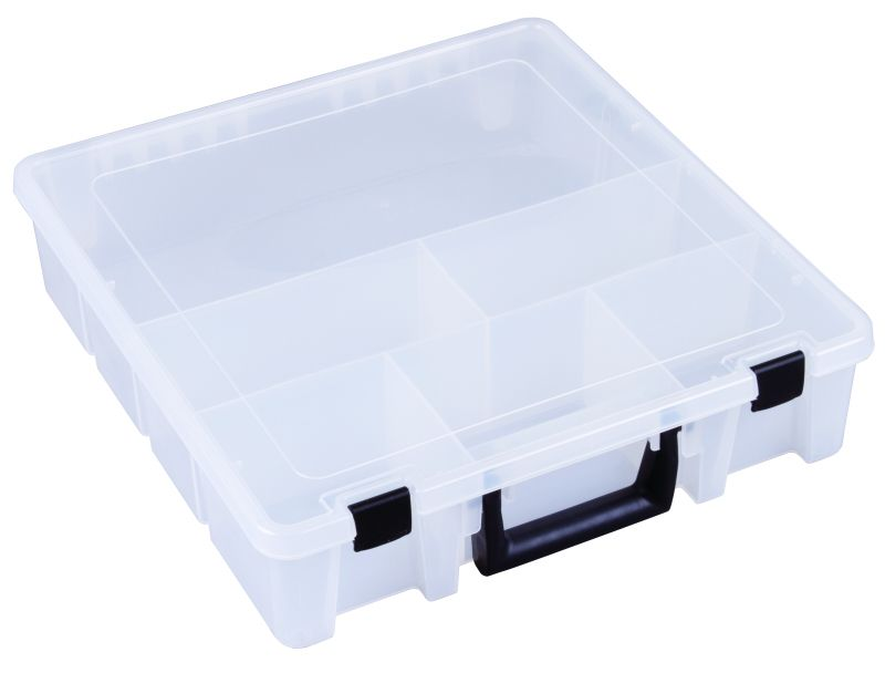 T9006 Six-Compartment Deep Super Satchel deep super satchel,translucent polypropylene,plastic cases,plastic packaging