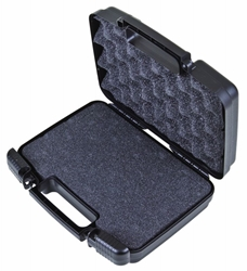 "Tradesman 10 1/2"" (26.67 cm) Black- with Convoluted Foam Lid & Diced Foam Base tradesman, convoluted foam, plastic cases, durable cases, weapon storage cases, cases with foam, firearm cases, industrial cases, customizable cases, OEM cases, sample kits, sample cases, flambeau cases, plastic packaging, blue diamond, kits, kit case, 10"", 6775WF, 10.5"", 10 1/2"""