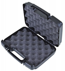 "Tradesman 10 1/2"" (26.67 cm) Black-with Convoluted Foam tradesman, convoluted foam, plastic cases, durable cases, weapon storage cases, cases with foam, firearm cases, industrial cases, customizable cases, OEM cases, sample kits, sample cases, flambeau cases, plastic packaging, blue diamond, kits, kit case, 10"", 10.5"" 10 1/2"",` 6776TC"