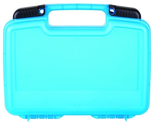 "Tradesman 10 1/2"" (26.67 cm) Translucent Blue tradesman, convoluted foam, plastic cases, durable cases, weapon storage cases, cases with foam, firearm cases, industrial cases, customizable cases, OEM cases, sample kits, sample cases, flambeau cases, plastic packaging, blue diamond, kits, kit case, 10"", 10.5"" 10 1/2"", 6775TD, clear blue, translucent, blue"