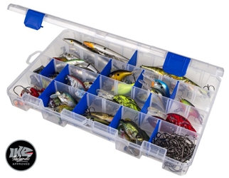 Tuff Tainer® - 5007 Divided fishing, fresh and salt water fishing, fresh water fishing, salt water fishing, fresh water, salt water,tuff tainer, tuff, tackle box, tackle, storage, lures, storage for lures, storage for tackle, non-rusting, Zerust, corrosion protection, great gift, fathers day, gift for grandpa, gift for father, gift for uncle, gift for husband, gift for son, Christmas gift, birthday gift, clear satchel, translucent satchel, fishing gear, fishing supplies, deep sea fishing,