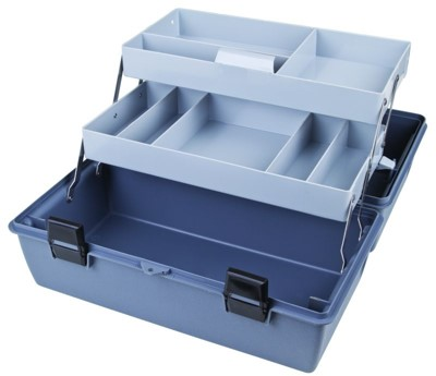 Two-Tray Box, Eight Compartments Utility,Box,cantilever,tray,tool box, 18090-2, 6755HS