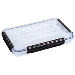 WT4000 Waterproof One-Compartment Box waterproof boxes, waterproof tuff tainers, heavy-duty boxes, durable boxes, plastic boxes, storage boxes, fishing boxes, medical kits, sales kits, demo kits, industrial boxes, customizable boxes, flambeau, flambeau cases, storage boxes, clear boxes, WT4000, 6741TE