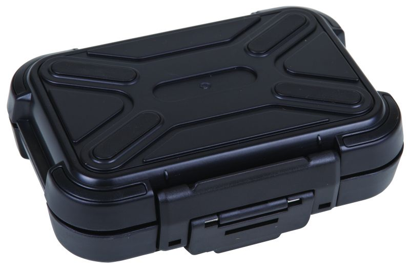 "Black Ribbon 5"" (12.70 cm) astic cases, black ribbon cases, storage cases, water resistant cases, durable cases, flambeau cases, flambeau packaging, packaging products, customized cases, black cases, ABS plastic, 6735PC, 5"""