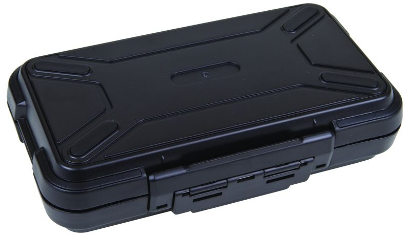"Black Ribbon 7 3/4"" (19.69) plastic cases, black ribbon cases, storage cases, water resistant cases, durable cases, flambeau cases, flambeau packaging, packaging products, customized cases, black cases, ABS plastic, 6737PC, 7 3/4"""