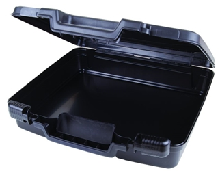 "Merchant 15"" (38.1 cm) merchant,case,plastic packaging,plastic cases, blue diamond, 6782TC, 15"", case, black, flashlight case, kit,"