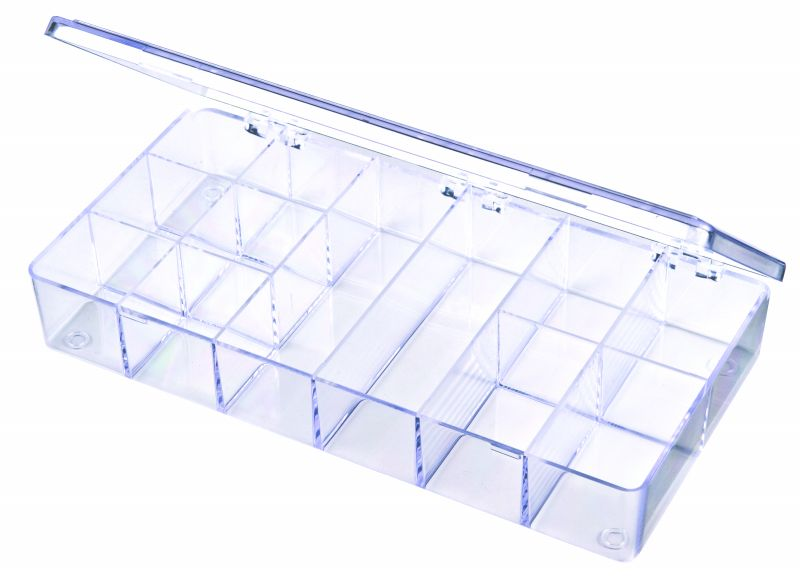 A201 12-Compartment Box styrene,box,plastic,packaging,merchandising,display,clarity,storage case,product display,one compartment,visibility,case,plastic box,retail merchandising, A series,plastic cases, plastic case,point of purchase, A201, 6610CB