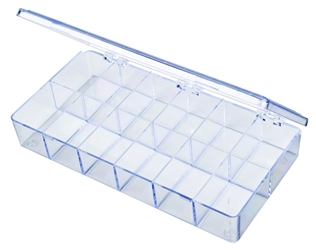 A208 12-Compartment Box styrene,box,plastic,packaging,merchandising,display,clarity,storage case,product display,one compartment,visibility,case,plastic box,retail merchandising, A series,plastic cases, plastic case,point of purchase, A208, 6618CB, blue diamond
