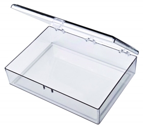 A401 One-Compartment Box styrene,box,plastic,packaging,merchandising,display,clarity,storage case,product display,one compartment,visibility,case,plastic box,retail merchandising, A series,plastic cases, plastic case,point of purchase, A401, 6650CB