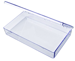 A601 One-Compartment Box styrene,box,plastic,packaging,merchandising,display,clarity,storage case,product display,one compartment,visibility,case,plastic box,retail merchandising, A series,plastic cases, plastic case,point of purchase, A601, 6652DB