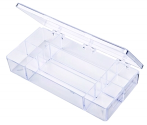 A217 Seven-Compartment Box styrene,box,plastic,packaging,merchandising,display,clarity,storage case,product display,one compartment,visibility,case,plastic box,retail merchandising, A series,plastic cases, plastic case,point of purchase, A217, 6634CB