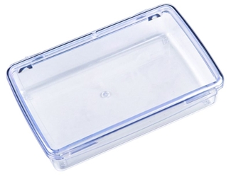 DB226 One-Compartment Box DB226, 6744CD, styrene,box,plastic,packaging,merchandising,display,clarity,storage case,product display,one compartment,visibility,case,plastic box,retail merchandising, diamondback,one compartment,one-compartment