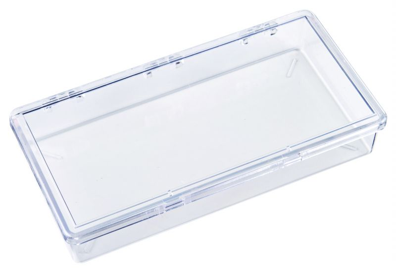 K216 One-Compartment Box K216, 6632KB, styrene,plastic box,merchandising,product display,clarity,packaging,merchandising,display,clarity,storage case,compartmented,visibility,case,plastic box,retail merchandising
