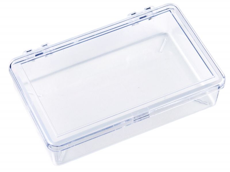 K226 One-Compartment Box K226, 6644KB, K-Series,styrene,plastic box,merchandising,product display,clarity,packaging,merchandising,display,clarity,storage case,compartmented,visibility,case,plastic box,retail merchandising