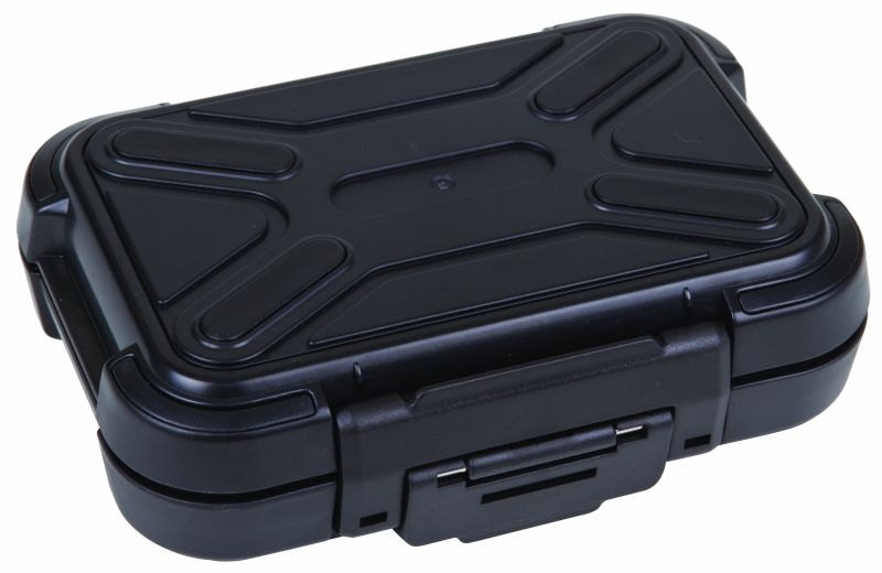 "Black Ribbon Case 5"" (12.70 cm)with Foam plastic cases, black ribbon cases, storage cases, water resistant cases, durable cases, flambeau cases, flambeau packaging, packaging products, customized cases, black cases, ABS plastic, 6735PF, 5"""