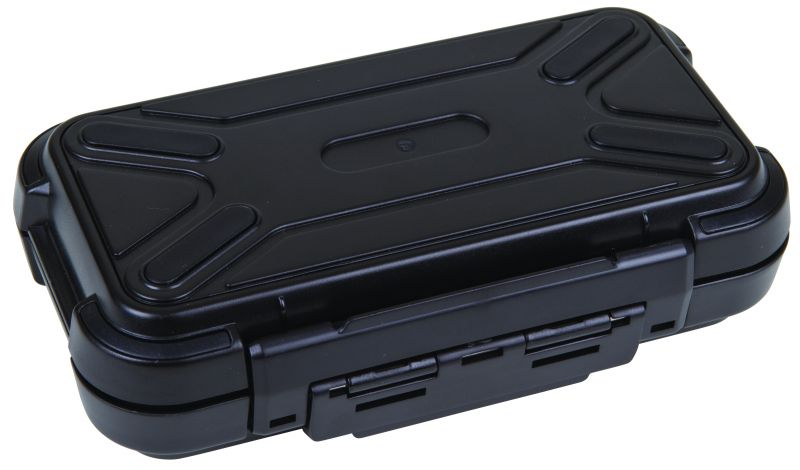 "Black Ribbon Case 6 1/4"" (15.56 cm) with flat foam lid & base Black Ribbon, Water Resistant Cases, Durable Cases, Sample Cases, Sample Kits, Electronic Cases, Plastic Packaging, Flambeau Packaging, Black Ribbon Cases, Fly Fishing Cases, Industrial Cases, Open Compartment Boxes, Plastic, ABS, 6 1/4"", 6736PF"