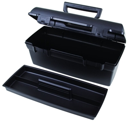 Lil Brute Utility/Tool Box with tray Lil' Brute,Utility,Tool,Box,Black,tray, 13805-2, 6734HS