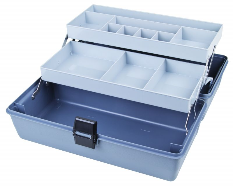Two-Tray Box, 11 Compartments Utility,Box,cantilever,tray, 6749HS, 17090-2