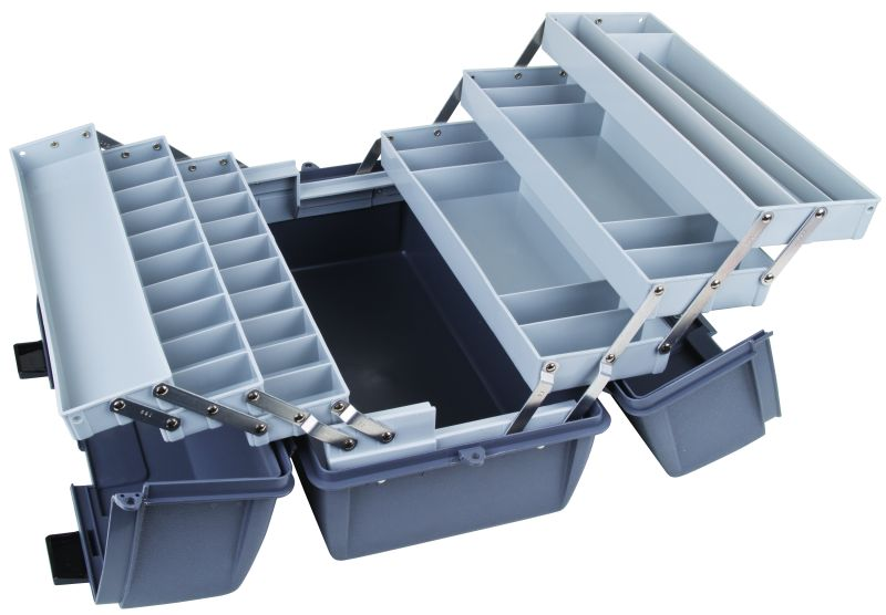 Six-Tray Box, 35 Compartments cantilever trays,utility box,plastic packaging, 6756HS, tool, utility, 19060-2