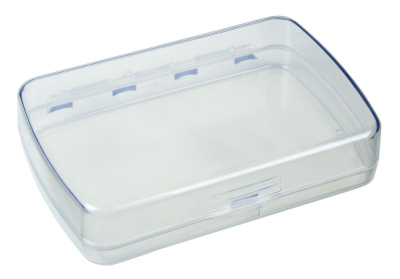 3030-2 One-Compartment Box precision box,plastic box,plastic case,one-compartment,one compartment,plastic boxes,plastic cases,display,clarity,rust-proof,rust proof,rust proof hinge,rust-proof hinge,Styrene Butadiene Methyl Methacrylate, 3030-2, 3030, 6730AA, blue diamond